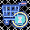 Shopping History Free Commerce Buy Icon