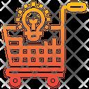 Shopping Cart Idea Icon