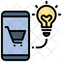 Innovation Idea Shopping Icon