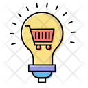 Light Bulb Shopping Icon