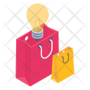 Shopping Solutions Shopping Idea Creative Shopping Icon