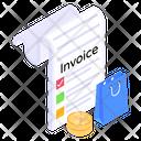 Bill Invoice Receipt Icon