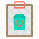 Shopping Shopping List Clipboard Icon