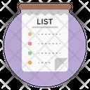 Wish List Tasklist Todo List Icon