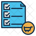 Shopping List Balance Icon