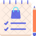 Mshopping List Icon