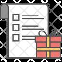 Checklist Grocery List Merchandise Icon