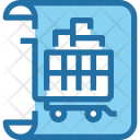 List Shopping Cart Icon