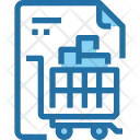 Shopping List Paper Icon
