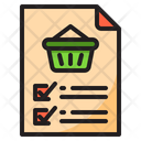 File Document Busket Icon