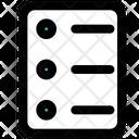 List Checklist Document Icon
