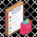 Wishlist Todo List Shopping List Icon