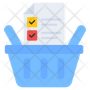 Checklist Shopping List Todo Icon