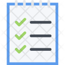 Shopping List Commerce Icon