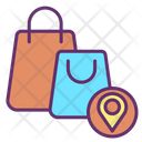 Mshopping Center Map Location Shopping Location Shopping Icon