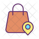 Mshopping Center Location Shopping Location Shopping Icon