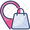 Shopping Location Shop Map Icon