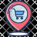 Kartboard Pin Location Icon