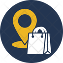 Shopping Location Shopping Location Icon