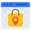 Shopping Location Web Shopping Buy Online Icon