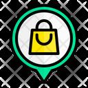 Shopping Location Shopping Bag Shopping Icon