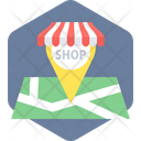 Shopping Location Icon