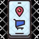 Buy Location Cart Icon