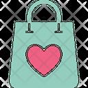 Shopping love Icon
