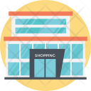 Mall Building Shopping Icon