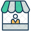 Shopping Mall Mall Store Icon