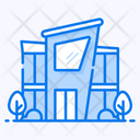 Shopping Mall Store Outlet Icon
