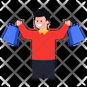 Shopping Purchase Shopping Man Icon
