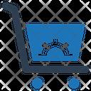 Cart Edit Shopping Bag Icon