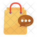 Shopping Message Icon