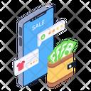 Shopping Money Icon
