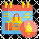 Shopping Notification Icon