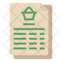Shopping Order Icon