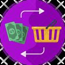 Supermarket Shopping Shopping Basket Icon