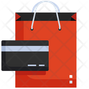 Shopping Payment Card Payment Shopping Bag Icon