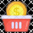 Shopping Money Shopping Payment Shopping Basket Icon