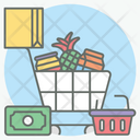 Shopping Products Grocery Shopping Food Shopping Icon