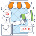 Sale Promotion Discount Marketing Discount Announcement Icon