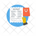 Shopping Receipt Shopping Invoice Bill Icon
