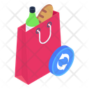 Shopping Recycling Icon