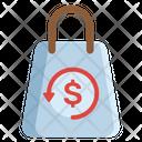 Shopping Refund Icon