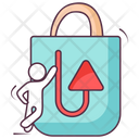 Shopping Return Parcel Return Product Return Icon