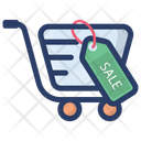 Shopping Sale Discount Cut Price Icon