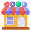 Store Sale Shopping Sale Outlet Sale Icon