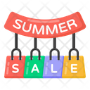 Shopping Sale Labels Summer Shopping Sale Shopping Sale Icon
