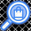 Shopping Search Bag Shopping Icon